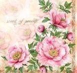 Artykuły dekoracyjne - serwetki / Piękne serwetki w wielu wzorach i kolorach to doskonały dodatek na Twój stół.