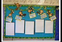 Classroom displays and organisation