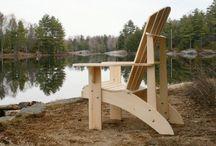 Grandpa Adirondack chairs