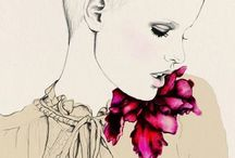 fashion drawings / by HADASITY