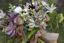 Bridal bouquets... / wedding bouquet, bridle bouquet, bridesmaids bouquet, wedding flowers, rustic bouquet, foliage bouquet, wild flower bouquet, country garden bouquet, quirky bouquet.