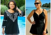 Swimsuits and Coverups for plus size women