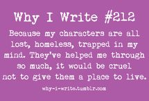 Writing / Writing, words and inspiration.