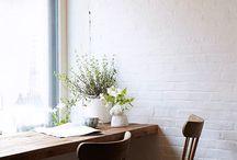 café style coffee  bench