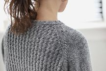 01 Knit to sort / by Sascha