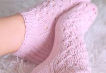 Kauniita villasukkia ym.