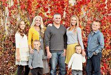 Esquemas de color fotos familiares