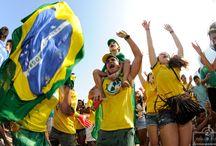 Copa do Brasil 2014, Rio de Janeiro / Em Copacabana, a Fifa Fan Fest foi o palco da festa. © Rua da Foto by Cíntia Erdens Paiva