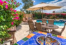 Outdoor Living / The outdoor lifestyle of Scottsdale, AZ.  The backyard is our oasis in Arizona and this is where we enjoy beautiful landscapes, refreshing pools, and quality time with friends, family, and neighbors!