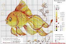 Bügelperlen Fische