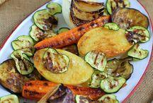 verduras asadas plancha