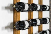WineRack - Wine Cradle / These wine racks are made from aluminum that cradles the bottle on a rod or directly on to the wall. Installation as quick as opening a wine bottle. Go to our site for full range http://www.displaywine.com
