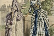 Suknie 1880-1889