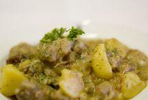 Primeros Platos / Puedes elegir entre una gran variedad de primeros platos: cremas, guisos... www.restauranteespadana.es