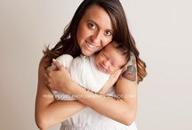 Babies: Momma / Photos of baby and momma poses