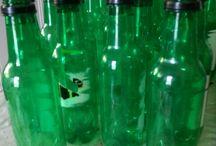 Christmas tree made of Plastic Bottle