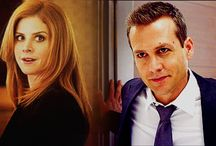 Harvey and Donna/ Suits