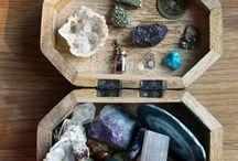 Doğal taşlar, boncuklar