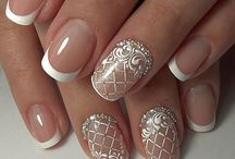 Nail art - french