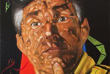 Portrait Illustration / Oil on canvas