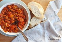 Food   Soups & Stews / Especially in the winter I love cooking up a large batch of my favourite soups.