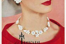 Vintage jewelry 40s-50s-60s