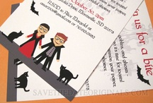 Pre-Wedding Party / Bridal shower invitations, couples showers, bachelorette party invites, and related things like Jack & Jill invitations