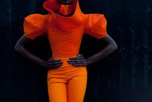 Orange / Fashion, style, art, design, and photography with the color orange.