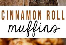 Muffins roll cinnamon