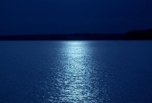 Moonlight and Sunset