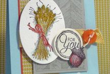 Stampin' Up! Winter, Summer, Spring and Fall!