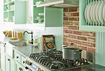 the kitchen = ♥ of a home / by Meryn Frey