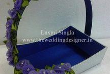 wedding card tray