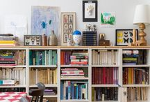 Bookshelves Galore! / Books on books on books! Creative designs to place books in your home.