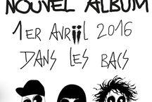 """iNA-iCH """" ii3 """" / VISUELS AUTOUR DU NOUVEL ALBUM D' iNA-iCH """" ii3 """" SORTIE LE 1ER AVRIL DANS LES BACS !!!"""