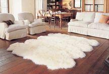 Sheepskin carpets / Sheepskin carpets designed by Herd Store
