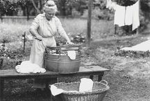 Aprons, washday & laundry day, hankies, hot pads, old fabric... / by JoAnn Rogers