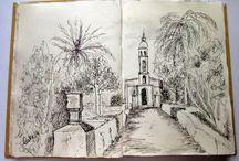 Os meus cadernos / Bocetos, dibuxos, apuntes, ilustración