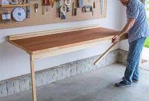 mesa de trabalho para garagem