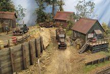 Diorama - Village