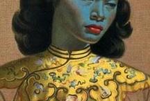 Blue & Yellow