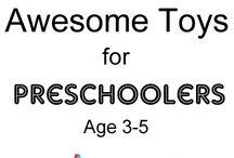 Toys for Toddlers to Preschoolers