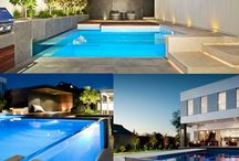 swimming pool glass