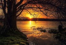Sunsets and sunrise