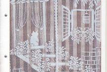 Crochet cortinas