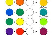 Blanda färger