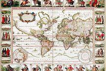 Antique World Maps