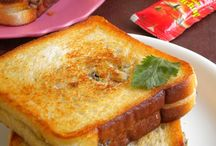 Panini / Panini, sandwich, burgers, bruschette, wraps, toasts. L'amore vero è tra due fette di pane.