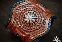 Leather Jewellery, cuff