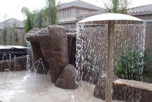 Parque acuático en casa